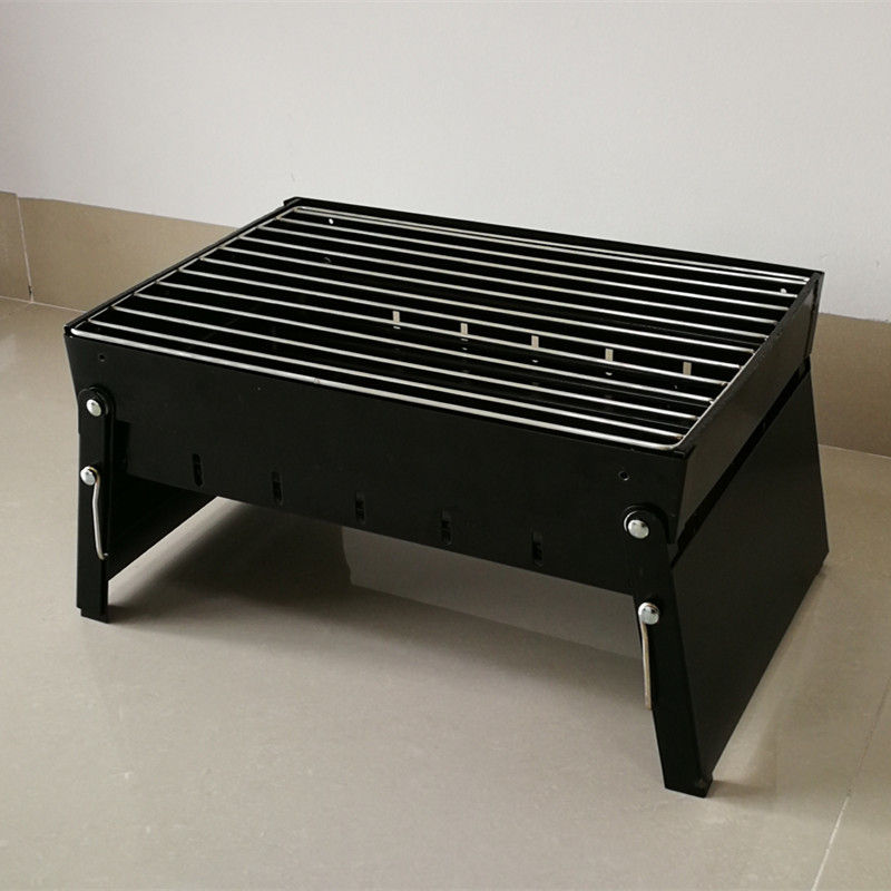 Outside Portable BBQ Bar B Que Grills Use On The Table , Easily Cleaned